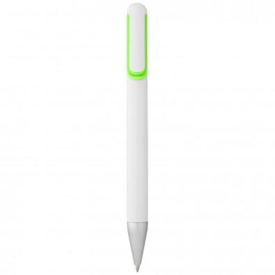 Nassau Kugelschreiber, weiss,grün
