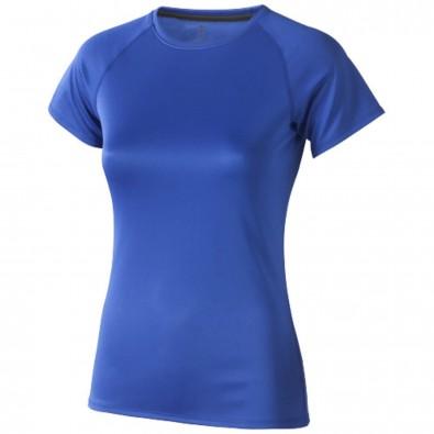 Niagara – T-Shirt cool fit für Damen, blau, L