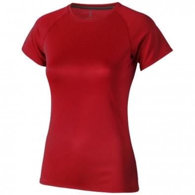 Niagara T-Shirt cool fit für Damen, rot, L