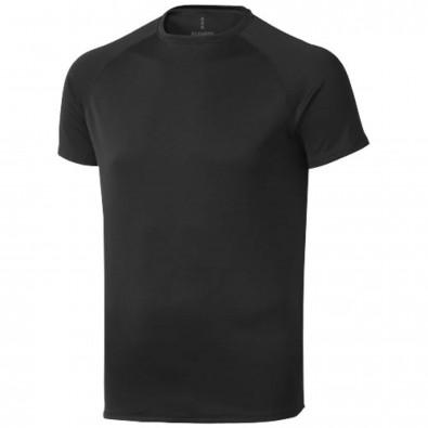 Niagara T-Shirt cool fit für Herren, schwarz, L
