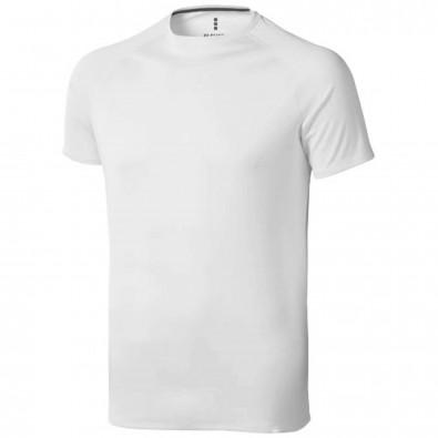 Niagara T-Shirt cool fit für Herren, weiss, L