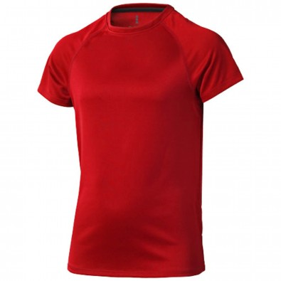 Niagara T-Shirt cool fit für Kinder, rot, 116