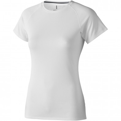 Niagara T-Shirt cool fit für Damen, weiss, L
