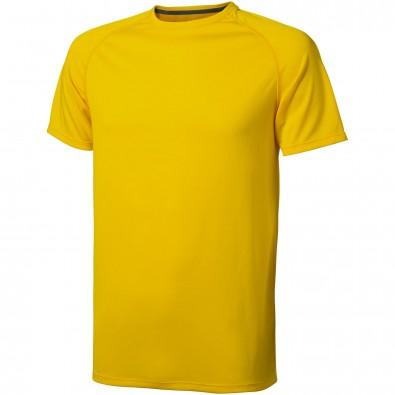 Niagara T-Shirt cool fit für Herren, gelb, XXL