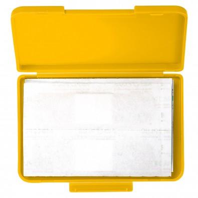 Notfall-Set Pflaster Box, standard-gelb