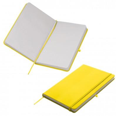 Notizbuch Happy, DIN A5, Gelb