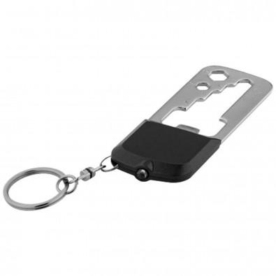 Ocat Schlüssellicht mit 8 Werkzeugfunktionen, schwarz,grau