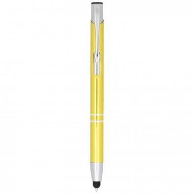 Olaf Kugelschreiber mit Touchpen, gelb