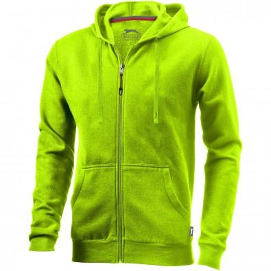 Open Kapuzensweatjacke, apfelgrün, XL