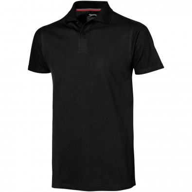 Original Slazenger Herren Polo-Shirt Advantage, Black, M