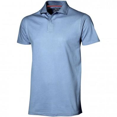 Original Slazenger Herren Polo-Shirt Advantage, Light Blue, L