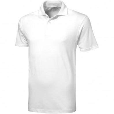 Original Slazenger Herren Polo-Shirt Advantage, White, M