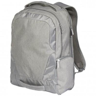 """Overland 17"""" TSA Laptop-Rucksack mit USB-Anschluss, grau"""