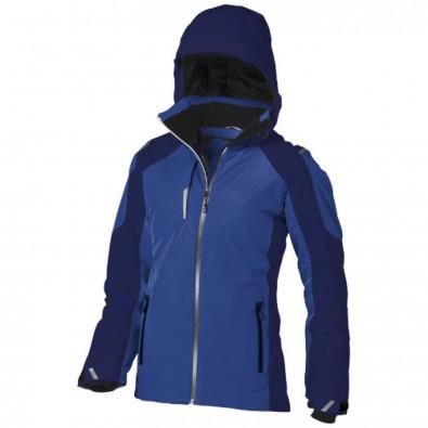 Ozark Damen Winter Thermo Jacke, blau,navy, S