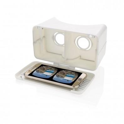 einstellbare VR-Brille, weiß weiß