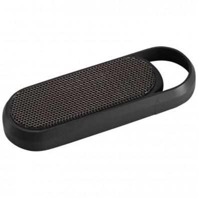 Petit tragbarer Party Bluetooth® Lautsprecher, schwarz