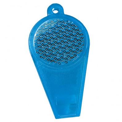 Pfeife Reflektor transparent-blau