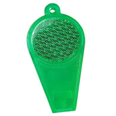 Pfeife Reflektor transparent-grün