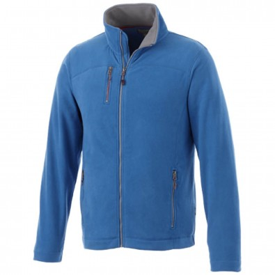 Pitch Mikro-Fleece-Jacke., himmelblau, L