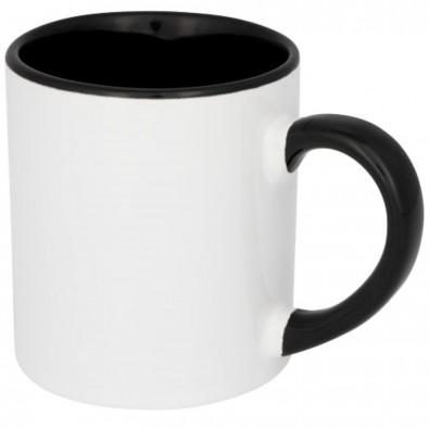 Pixi 250 ml Mini farbige Sublimations-Tasse, schwarz