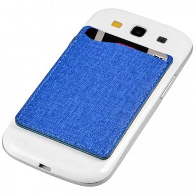 Premium RFID-Telefontasche, royalblau