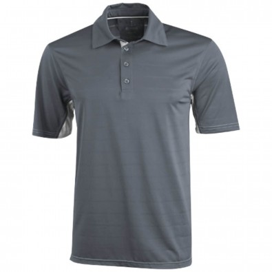Prescott – Poloshirt cool fit für Herren, Steel grey, XS
