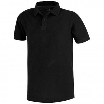 Primus Poloshirt für Herren, schwarz, XXXL