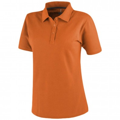 Primus Damen Poloshirt, orange, XL