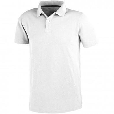 Primus Poloshirt für Herren, weiss, S