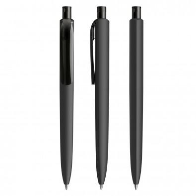 prodir® Kugelschreiber DS8 Soft Touch PRR Push, schwarz