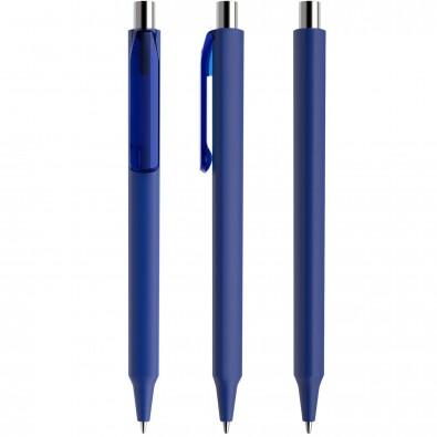 Prodir ES1 Soft Touch PTR Push Kugelschreiber, Klassikblau