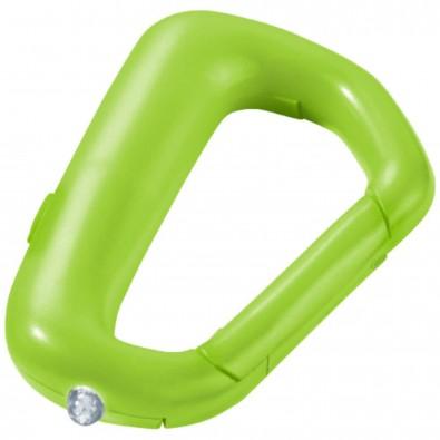 Proxima Schlüssellicht mit Karabiner grün