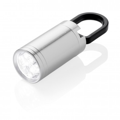 Pull-It LED Lampe, silber, grauschwarz