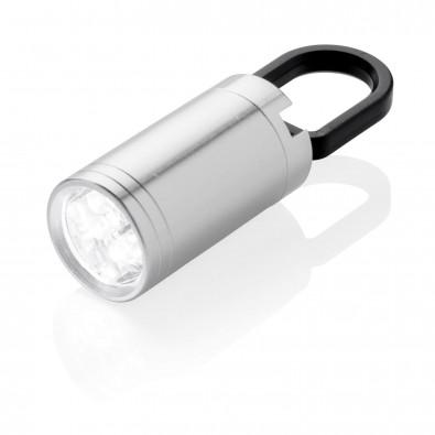 Pull-It LED Lampe, silber, grauschwarz