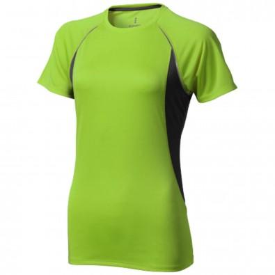 Quebec – T-Shirt cool fit für Damen apfelgrün,anthrazit | XS