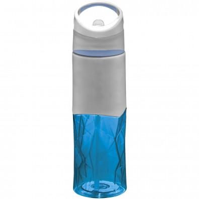 Radius 830 ml Tritan™ Geometrische Sportflasche, blau