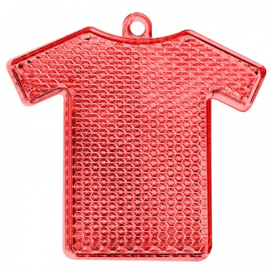 Reflektor Trikot, transparent-rot