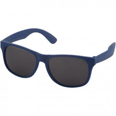 Retro Sonnenbrille, royalblau