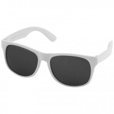 Retro Sonnenbrille, weiss