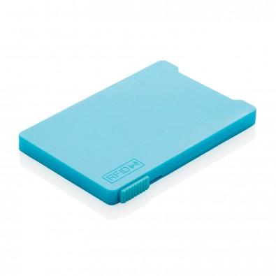 RFID Mehrfach-Kartenhalter, blau