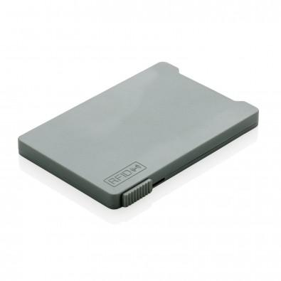 RFID Mehrfach-Kartenhalter, grau
