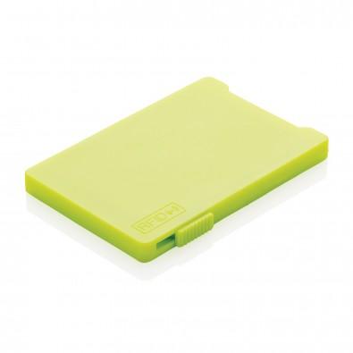 RFID Mehrfach-Kartenhalter, limone