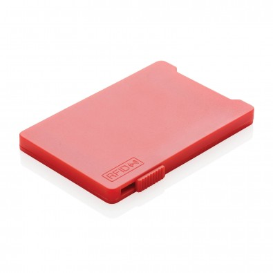 RFID Mehrfach-Kartenhalter, rot