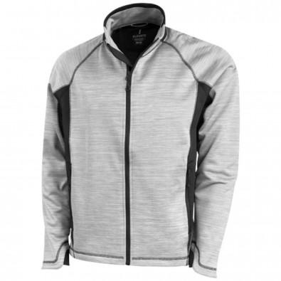 Richmond Trainingsjacke, grau meliert, L