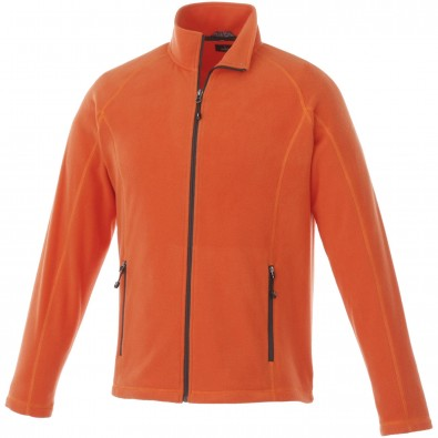 Rixford Fleecejacke für Herren, orange, S