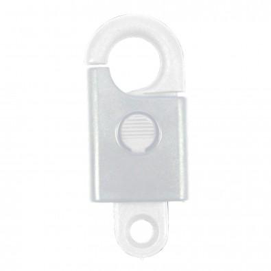 Schlüsselanhänger Safety, weiß