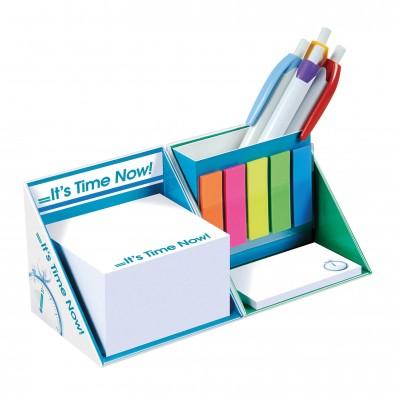 Schreibtisch-Würfel mit Hardcover Inkl. Einzelblattbedruckung