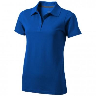 Seller – Poloshirt für Damen, blau, XL