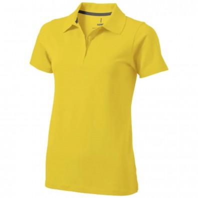 Seller Poloshirt für Damen, gelb, S