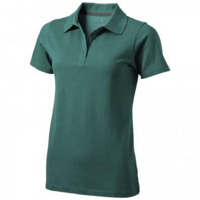 Seller Poloshirt für Damen, waldgrün, XL